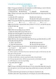 Bộ 1900 câu hỏi trắc nghiệm môn Sinh Học chọn lọc theo mức độ vận dụng kèm lời giải chi tiết