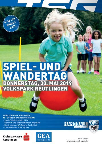 Spiel- und Wandertag 30.5.2019 Volkspark Reutlingen