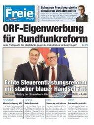 ORF-Eigenwerbung für Rundfunkreform