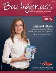 Buchgenuss Frühjahr 2019