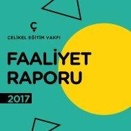 Çelikel Eğitim Vakfı Faaliyet Raporu 2017
