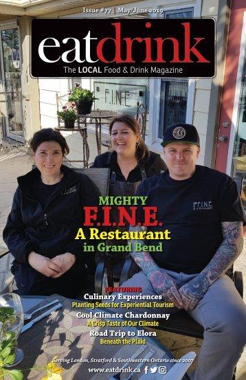 Eatdrink #77 May/June 2019