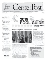 2019 Pool Guide and Summer CenterPost