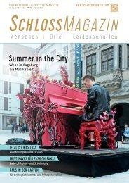 SchlossMagazin Mai 2019 Bayerisch-Schwaben und Fünfseenland