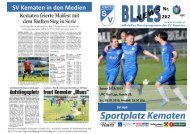 Blues News 262: Topspiel SV Kematen vs. SV Hall