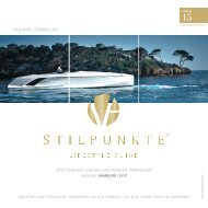 STILPUNKTE Lifestyle Guide Ausgabe 15 Hamburg / Sylt  -  Frühjahr/Sommer 2019