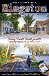 Kingston, NY Visitors Guide 2019