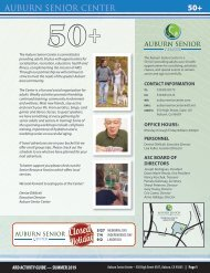 ARD Activity Guide - Auburn Senior Center