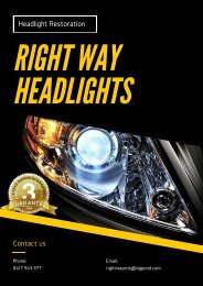 Find Affordable Restoration Solutions with Car Headlight Cleaner