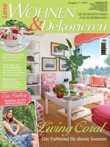Lena Wohnen & Dekorieren Nr. 3/2019
