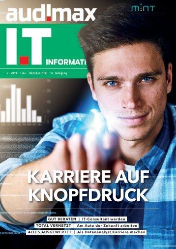 audimax I.T 6/2019 - Karrieremagazin für ITler