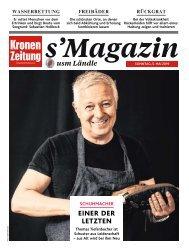s'Magazin usm Ländle, 5. Mai 2019
