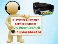 HP Printer Customer Service Number