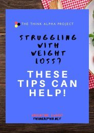 Struggling With Weight Loss? These Tips Can Help!