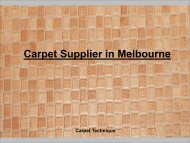 Carpet Supplier in Melbourne