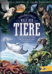 Welt der Tiere 32 Seiten