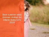 best summer dress for infant-converted