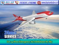 Choose Low-Cost Air Ambulance from Bhopal to Mumbai by Sky