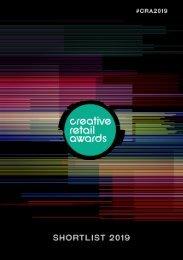 Creative Retail Awards 2019 - Shortlist Brochure