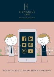 Pocket Guide to Social Media Marketing