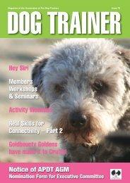Dog Trainer 70 - (Spring 2019)