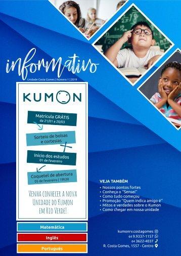Informativo Kumon Costa Gomes