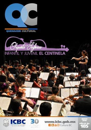 Agenda Cultural del ICBC Mayo 2019