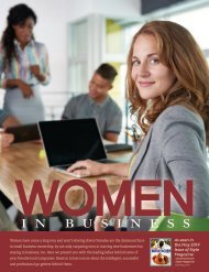 Style Magazine Women In Business Special Advertising Section