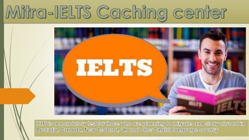 Mitra-IELTS Caching center12