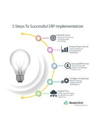 5 successful steps of ERP Implementation