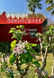 Amitiés dominicaines 82