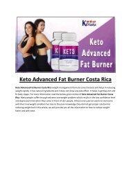 Keto Advanced Fat Burner Costa Rica