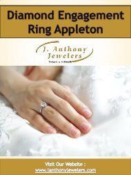 Diamond Engagement Ring Appleton