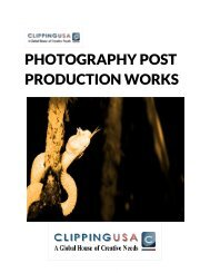 Photography Post Production Works
