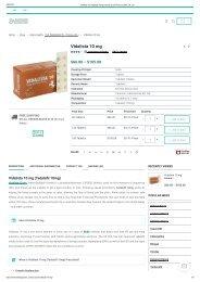 Vidalista 10 (Tadalafil 10mg) Online ✔Low Price at USA, UK, CA
