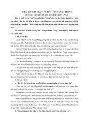 300 bài tập chọn lọc trích từ các đề thi thử (có lời giải chi tiết) -  Đọc hiểu - Nghị luận xã hội - Nghị luận văn học môn Ngữ Văn 12 - Phần 2