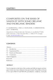 [ENGSUB/VIETSUB] CHAPTER 9 COMPOSITES ON THE BASIS OF SAWDUST WITH SOME ORGANIC AND INORGANIC BINDERS