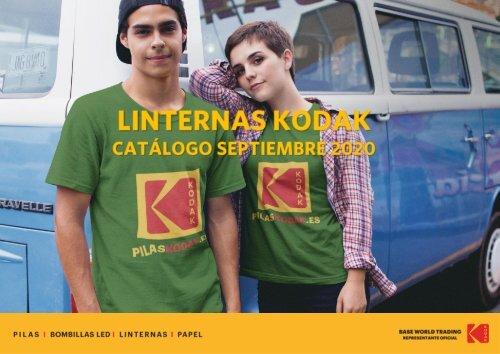 Catalogo de LINTERNAS LED Kodak Agosto 2020