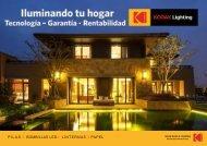 Catálogo de Iluminación LED Kodak Abril19