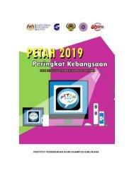 LAPORAN PETAH 2019 PERINGKAT KEBANGSAAN