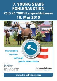 YOUNG STARS Fohlenauktion I Lamprechtshausen (AUT) am 18. Mai 2019