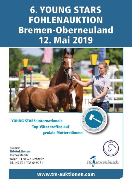 YOUNG STARS Fohlenauktion Bremen-Oberneuland am 12. Mai 2019