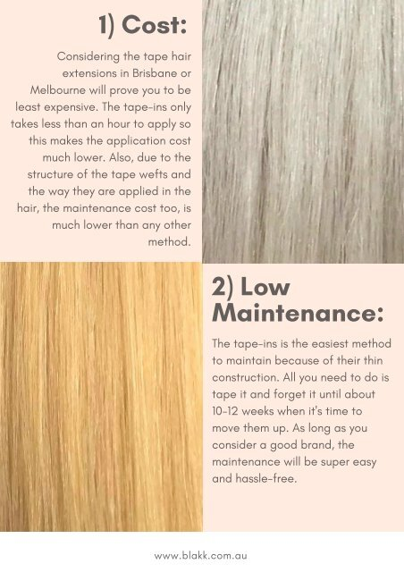 5 Reasons Why You Should Go for Tape Hair Extensions in Melbourne - Blakk