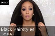 Get Inspired by Black Hairstyles for Black Women | Un-Ruly