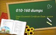 Lpi Linux Essentials 010-160 real dumps