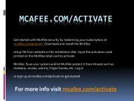 McAfee.com/Activate - Install & Activate Mcafee