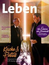 Leben im Erzbistum Bamberg Ausgabe 1/2019