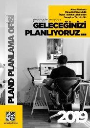 Pland Planlama Katalog 2019