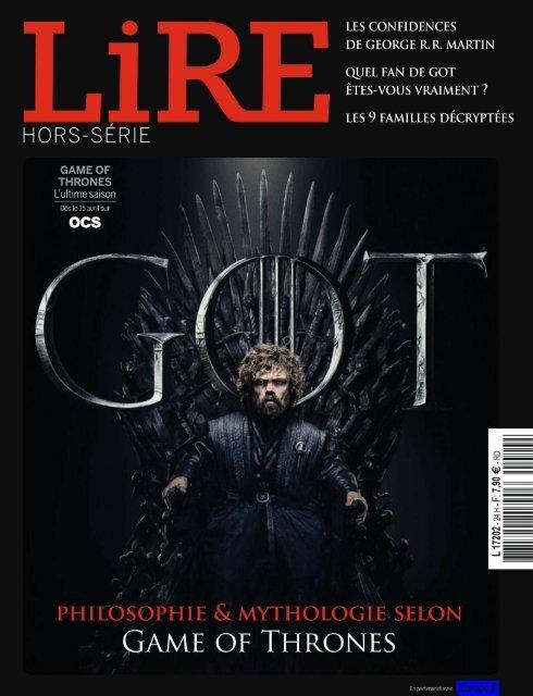 Lire-Spécial Games of thrones