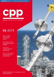 cpp – Process technology for the chemical industry 02.2019
